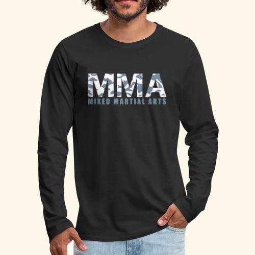 FWSBerlin Langarmshirt MMA  - Männer Premium Langarmshirt