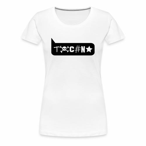 Techno Comic Sprechblase - T-Shirt - Frauen Premium T-Shirt
