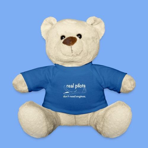 Segelflieger - real Pilot - lustiger Spruch für Segelflieger - das perfekte Geschenk - Teddy Bear