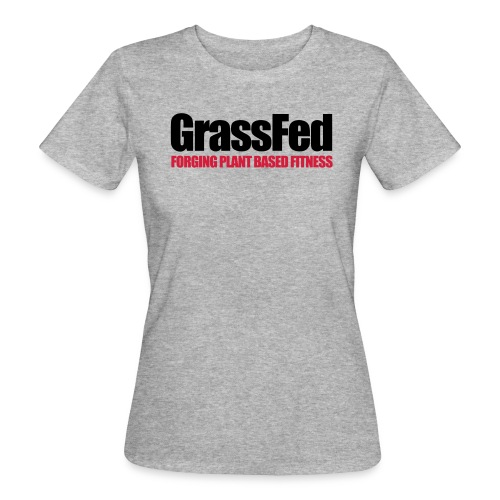 GrassFed two-color all sides - Women's Organic T-Shirt