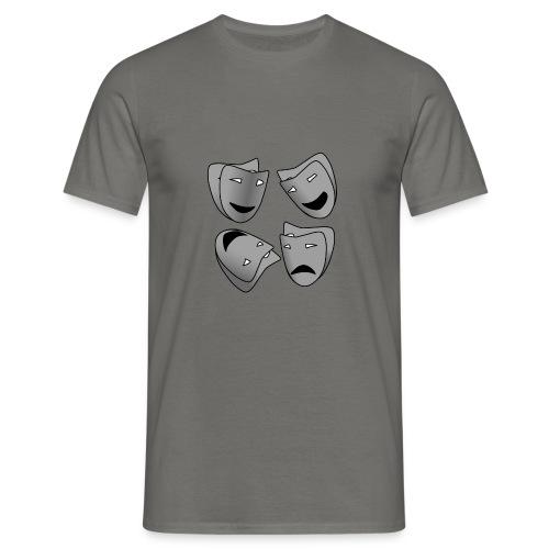 Masken - Männer T-Shirt