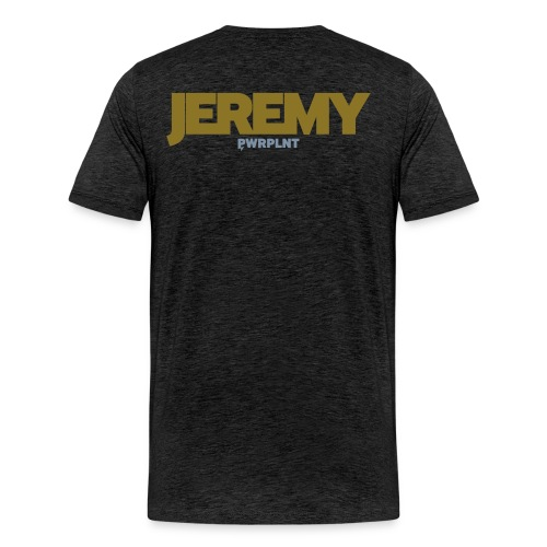 GrassFed JEREMY REIJNDERS Premium Shirt two-color all sides - Men's Premium T-Shirt