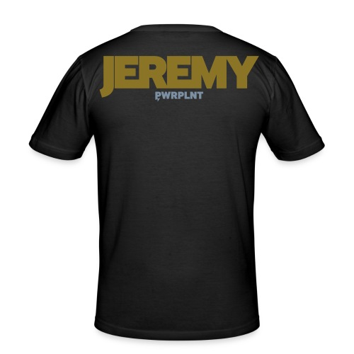 GrassFed JEREMY REIJNDERS Slim-Fit two-color all sides - Men's Slim Fit T-Shirt