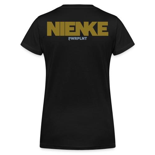 GrassFed NIENKE VAN OVERVELD all sides - Women's Organic V-Neck T-Shirt by Stanley & Stella