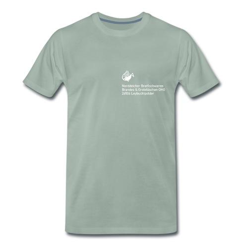 Norddeicher Bratfischwaren - Männer Premium T-Shirt