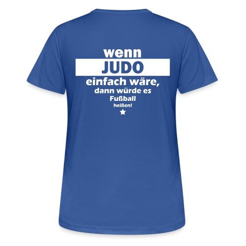 Judo Fan Short - Frauen - Frauen T-Shirt atmungsaktiv