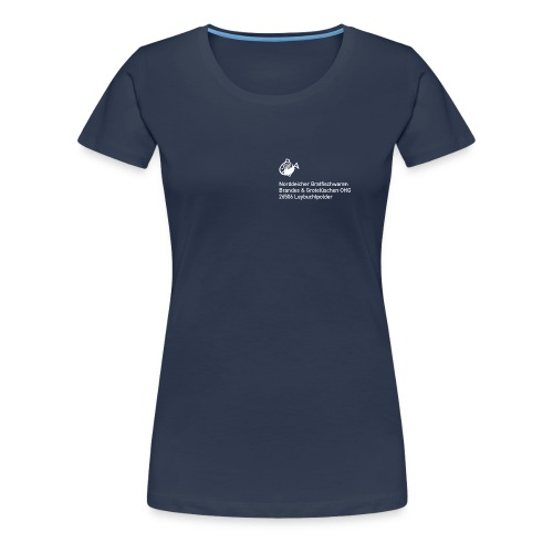 Norddeicher Bratfischwaren (Frauen) - Frauen Premium T-Shirt