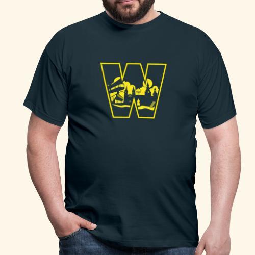 W wie Wuppertal Wahrzeichen T-Shirt - Männer T-Shirt