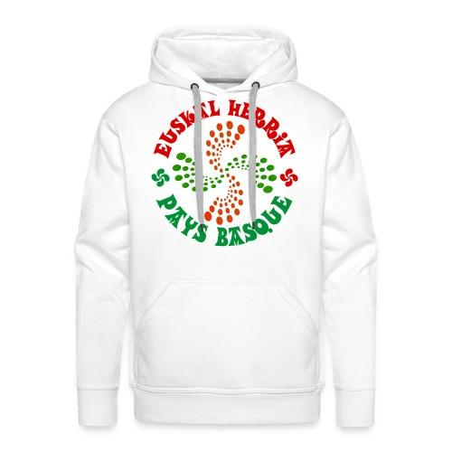 Pays Basque - Sweat-shirt à capuche Premium pour hommes