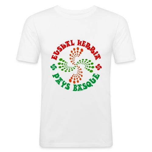 Pays Basque - T-shirt près du corps Homme