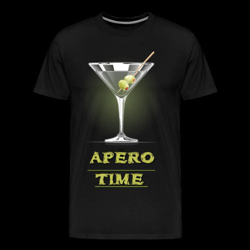 Tshirt Apero Time - T-shirt Premium Homme