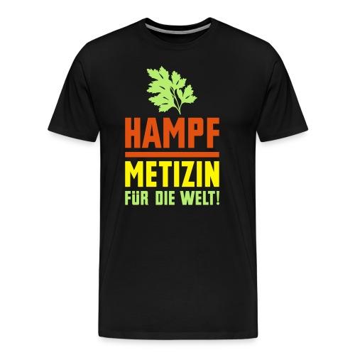 Hampf. Metizin für die Welt - Männer Premium T-Shirt