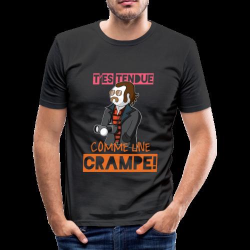 Claudy Faucan Dikkenek - T-shirt près du corps Homme