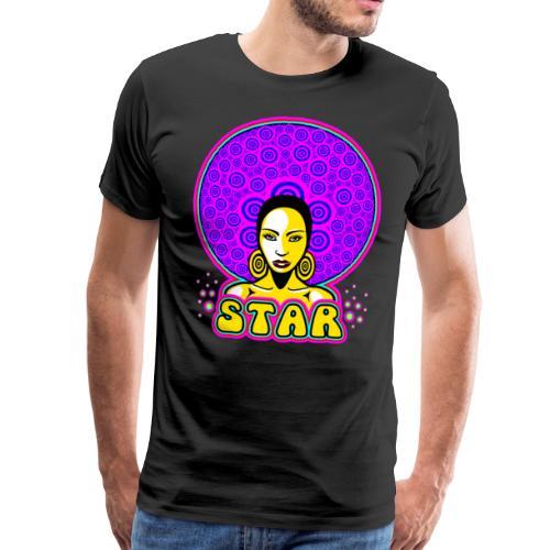 Disco Dance Star - Men's Premium T-Shirt