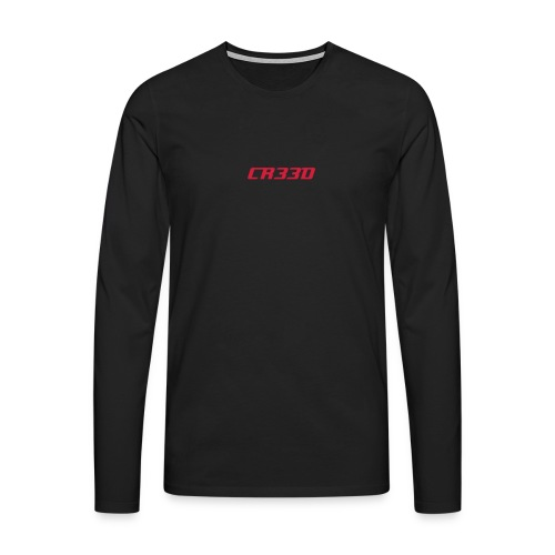 Gamer Creed CREED Long Sleeve T-Shirt - Men's Premium Longsleeve Shirt