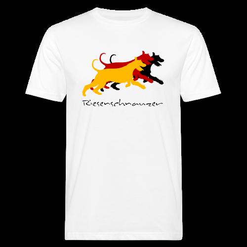 Riesenschnauzer german color - Männer Bio-T-Shirt