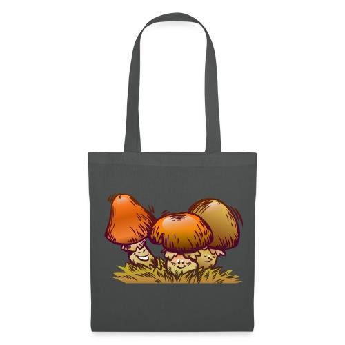 Froehliche Pilze Stoffbeutel - Stoffbeutel