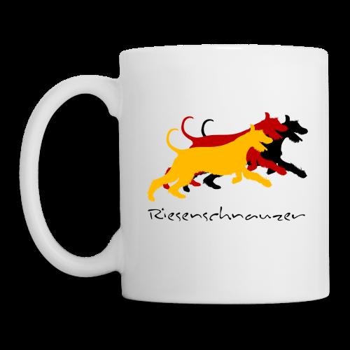 Riesenschnauzer german color - Tasse
