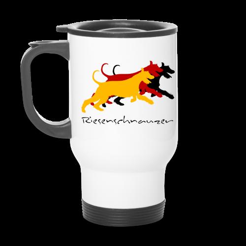 Riesenschnauzer german color - Thermobecher