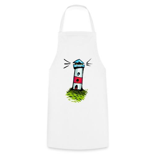 Leuchtturm Cartoon Design - Kochschürze