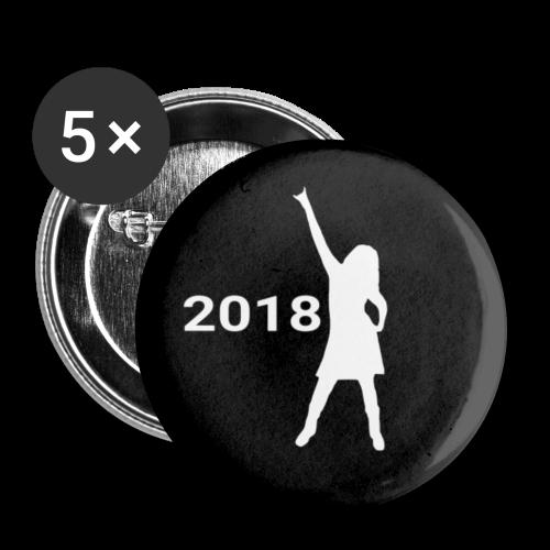 Rocktober 2018 Buttons - Buttons klein 25 mm