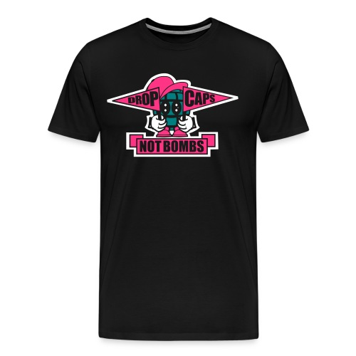 Drop Caps - Männer Premium T-Shirt