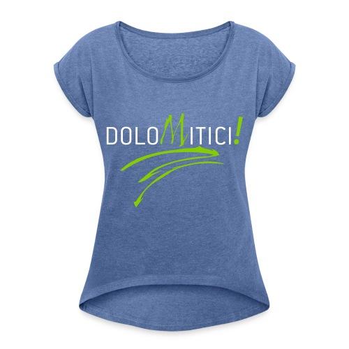 Maglietta da donna con risvolti  DoloMitici! - Maglietta da donna con risvolti