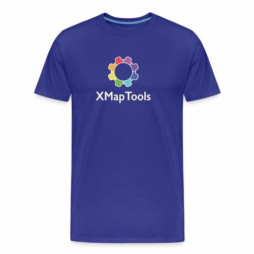 XMapTools - Men's Fine Jersey T-Shirt - Maglietta Premium da uomo
