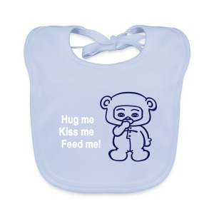 Babyboy bear - Bio-slabbetje voor baby's