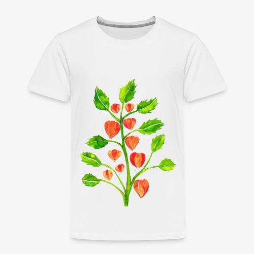 Lampionplant kinder T-shirt - Kinderen Premium T-shirt