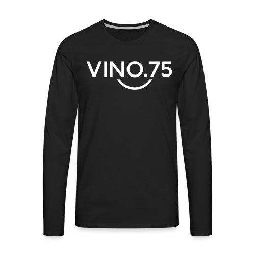 Maglietta uomo VINO75 - Maglietta Premium a manica lunga da uomo