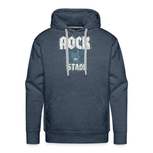 HOODY-ROCK-STADL-grau - Männer Premium Hoodie