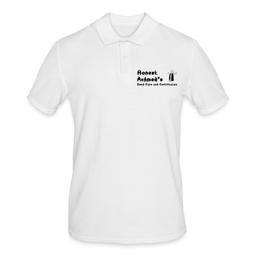 Honest Achmed Used Cars and Certificates Corporate Polo - Men's Polo Shirt