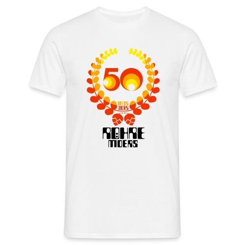 Röhrenjubiläumsshirt 5 - Männer T-Shirt
