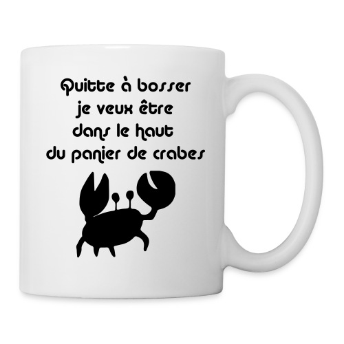 Panier de crabes - I Feel Good - Mug blanc
