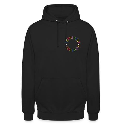 Circle Represent Yourself - Bluza z kapturem typu unisex
