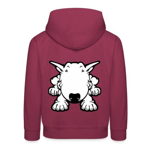 Bull Terrier Play  - Kids' Premium Hoodie