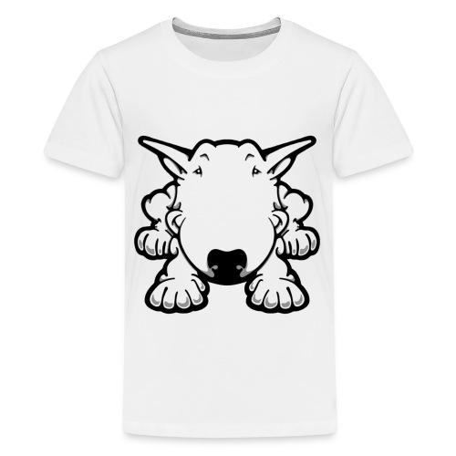 Bull Terrier Play - Teenage Premium T-Shirt