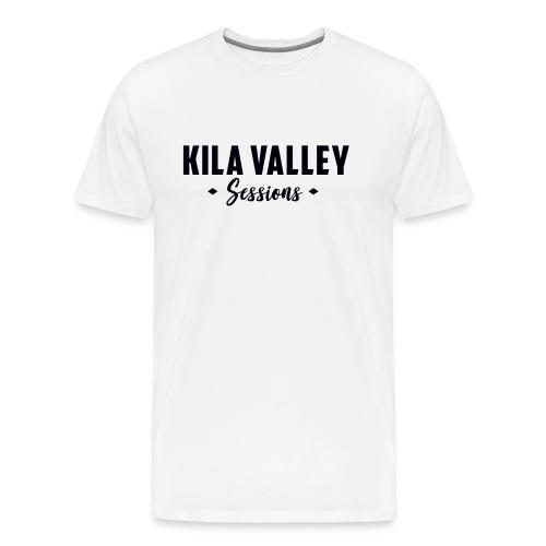 Kila Valley white - Premium-T-shirt herr