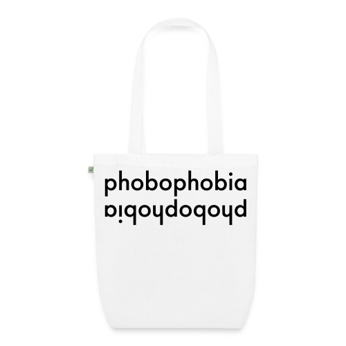 Phobophobia, Tote Bag (Organic Cotton) - Bio-Stoffbeutel