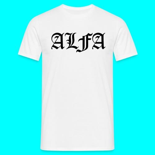 ALFASUSI t-paita - Miesten t-paita
