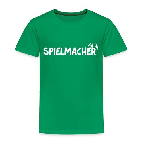 Kinder T-Shirt Spielmacher - Kinder Premium T-Shirt