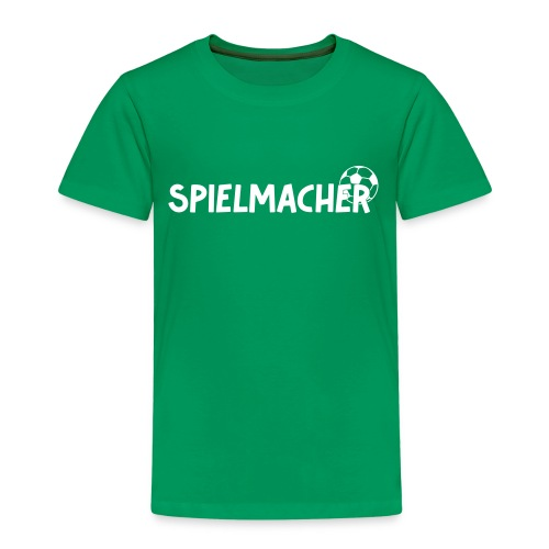 Kinder T-Shirt Spielmacher - Kinder Premium T-Shirt