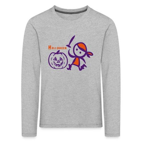 Halloween - Kinder Premium Langarmshirt