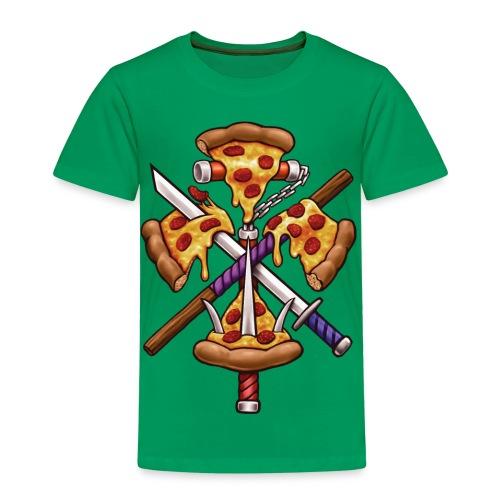 Ninja Pizza - Kids' Premium T-Shirt
