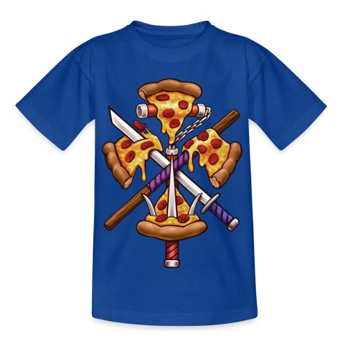 Ninja Pizza - Teenage T-Shirt