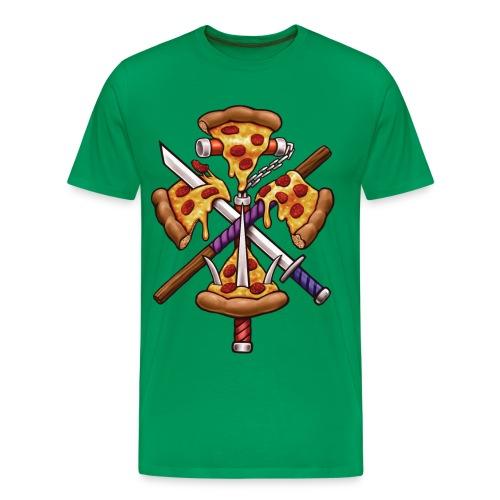 Ninja Pizza - Men's Premium T-Shirt