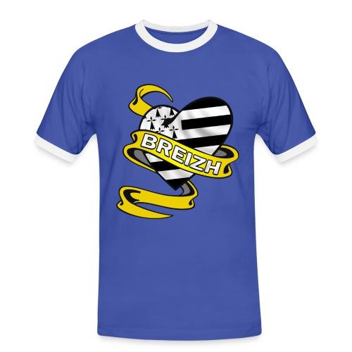 Coeur Breton - T-shirt contrasté Homme