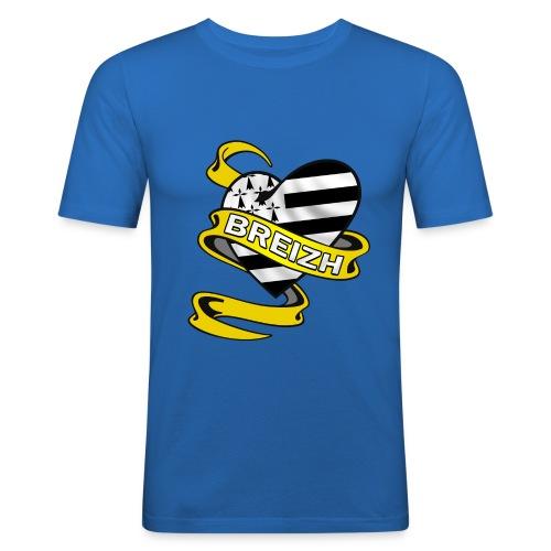 Coeur Breton - T-shirt près du corps Homme