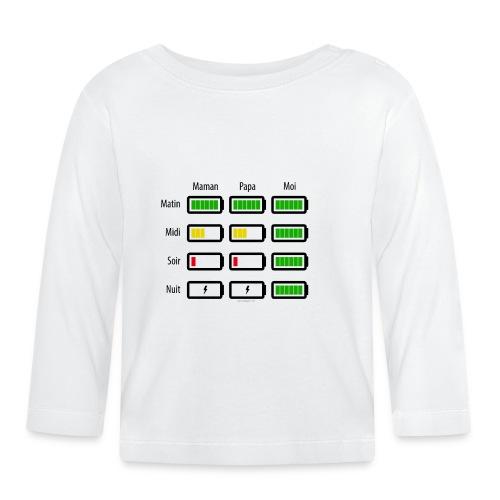 Low battery ! - T-shirt manches longues Bébé